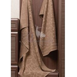 Купить Махровое полотенце Piera коричневое 50х90 см 30411 Примавель
