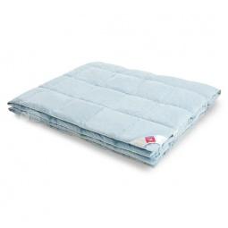 Купить Легкое пуховое одеяло евро Камелия голубое 744131 Легкие Сны