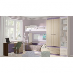 Купить Набор для детской 'Мебель Трия' Индиго ГН-145.001 ясень коимбра/навигатор