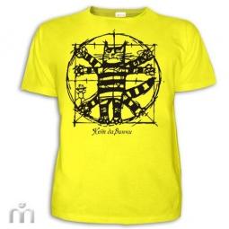 Купить Мужская футболка «Кот да Винчи (2)»