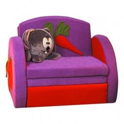 Купить Диван-кровать 'Олимп-мебель' Мася-8 Кролик 8131127 сиреневый/красный