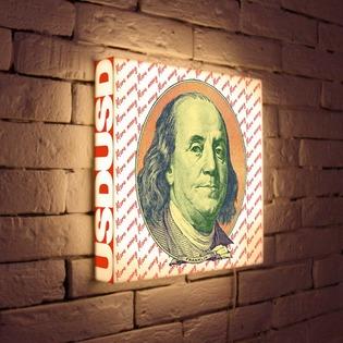 """Купить Лайтбокс """"Franklin"""" 35x35-123 FotonioBox"""