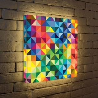 "Купить Лайтбокс ""Абстракция 12"" 45x45-081 FotonioBox"