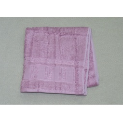 фото Махровое полотенце 100% Бамбук Лиловое 70*140 см PLT201-8-140 Tango