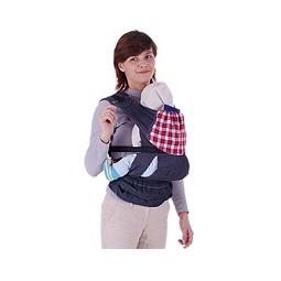 Купить Слинг-рюкзак БЕБИМОБИЛЬ ХИП джинсовый с красным