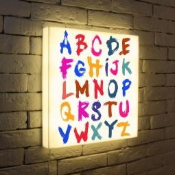 "Купить Лайтбокс ""Alphabet 2"" 45x45-004 FotonioBox"