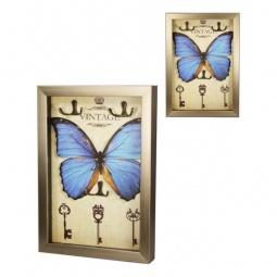 Купить Ключница 'Акита' (23х33 см) Бабочка-AKI 7364