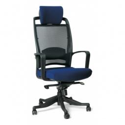 Купить Кресло компьютерное 'Chairman' Chairman 283 синий, черный/черный