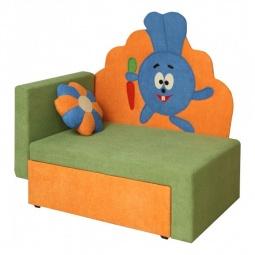 Купить Диван-кровать 'Олимп-мебель' Соната М11-3 Зайчик 8011127 зеленый/оранжевый