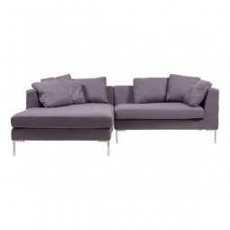 Купить Диван 'DG-Home' Charles Sofa Sectional Left Grey Cashmere DG-F-SF323-1