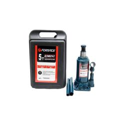Купить Домкрат бутылочный FORSAGE T90504S, 5т с клапаном (h min 190мм, h max 355мм) в кейсе