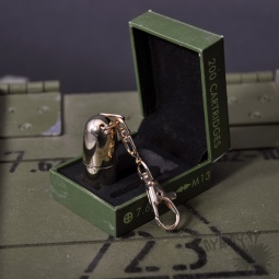 Купить Флешка-пуля  с гравировкой (золотая)(4 Гб)