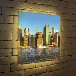 """Купить Лайтбокс """"NYC 3"""" 45x45-111 FotonioBox"""