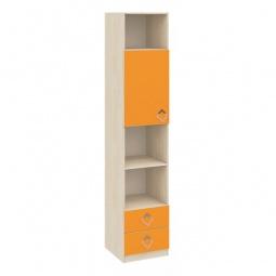 Купить Стеллаж комбинированный 'Мебель Трия' Аватар СМ-201.12.001 каттхилт/манго