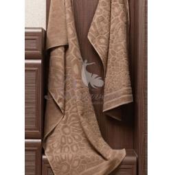 Купить Махровое коричневое полотенце Vitra 50х90 см 29415 Примавель