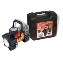 Купить Компрессор автомобильный AС-587 Master большой  мощности, с прожектором. 35 л/мин