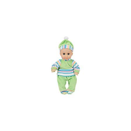Купить Пупс в зеленом костюме