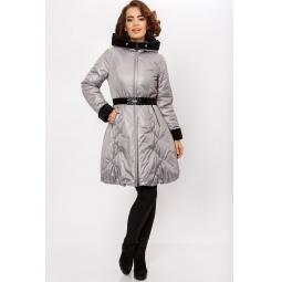 """Купить Пальто """"Барбарис"""" - серый"""