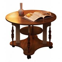 Купить Стол журнальный 'Олимп-мебель' Сатурн-М03 1200627 ясень шимо темный/ясень шимо светлый