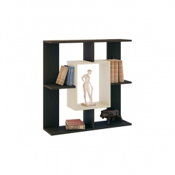 Купить Полка навесная 'Мебель Трия' Тип 5 венге цаво/дуб молочный