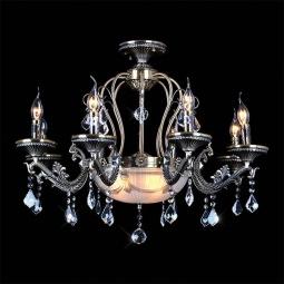 фото Подвесная люстра Eurosvet 22585 22585/8+3 античная бронза Eurosvet