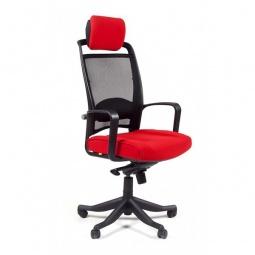 Купить Кресло компьютерное 'Chairman' Chairman 283 красный, черный/черный