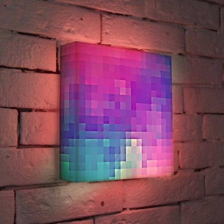 "Купить Лайтбокс ""Абстракция 4"" 25x25-053 FotonioBox"