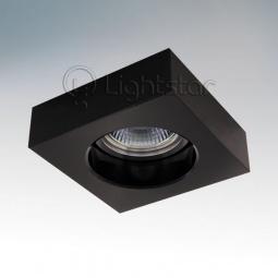 фото Встраиваемый светильник Lightstar Black 006127 Lightstar