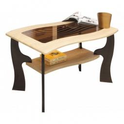 Купить 'Олимп-мебель' Стол журнальный Маджеста-9 1378527 венге/клен азия