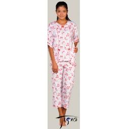 Купить Женская трикотажная пижама 100% хб арт.  3-17