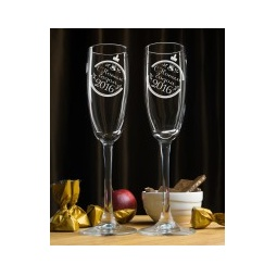 """Купить Набор фужеров для шампанского """"С Новым Годом"""""""
