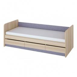 Купить Кровать 'Мебель Трия' Индиго ПМ-145.15 ясень коимбра/навигатор