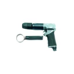 Купить 3/8 Пневмодрель реверсивная с быстрозажимным патроном 1800об/мин (потребление 113л/мин)