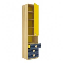 Купить Шкаф комбинированный 'Любимый Дом' Джинс 507.040 сантана/джинс/желтый бриллиант