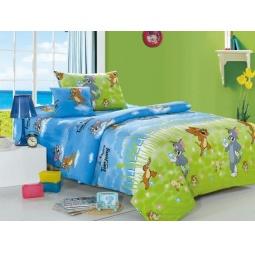 Купить Детское постельное белье Том и Джерри поплин 1,5 СайлиД С51-01
