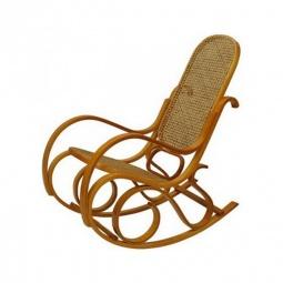 Купить Кресло-качалка 'Петроторг' 1807 L дуб светлый/коричневый