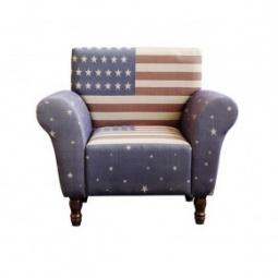 """Купить Большое кресло """"USA"""" для кабинета"""