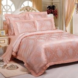 фото Постельное белье Жаккард 1,5 спальное SB104-1 Kingsilk