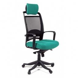 Купить Кресло компьютерное 'Chairman' Chairman 283 зеленый, черный/черный