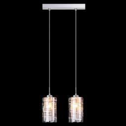 фото Подвесной светильник Eurosvet 50002/2 хром Eurosvet