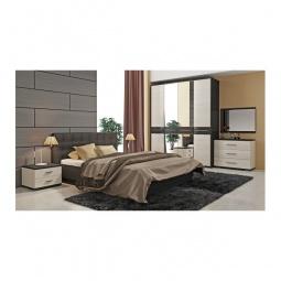 Купить Гарнитур для спальни 'Мебель Трия' Сити ГН-194.001 тексит/каттхилт