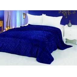 фото Меховой плед 220х240 см Синяя волна pkm104-220 Tango