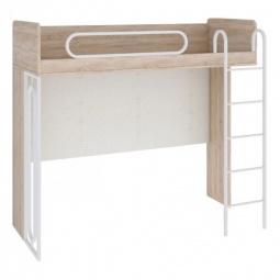 Купить Кровать 'Мебель Трия' Атлас ПМ-186.01 дуб сонома/хаотичные линии