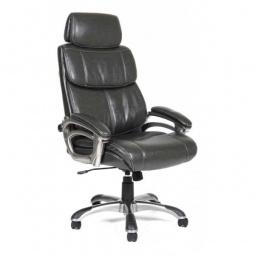 Купить Кресло для руководителя 'Chairman' Chairman 433 серый/серый, черный