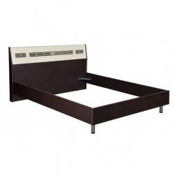 Купить Кровать двуспальная 'Витра' Ривьера 95.01 дуб венге/беленый дуб