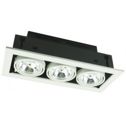 фото Встраиваемый светильник Arte Lamp Technika A5930PL-3WH Arte Lamp