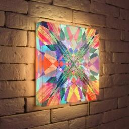 "Купить Лайтбокс ""Абстракция 3"" 35x35-049 FotonioBox"
