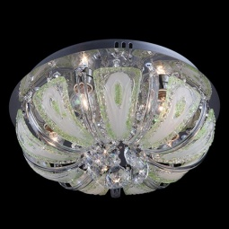 фото Светильник потолочный 5597/5 хром/зеленый+синий+голубой Eurosvet