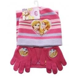 Купить Набор шапка+шарф+перчатки Принцессы