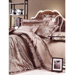 фото Постельное белье Жаккард с вышивкой Евро 220-126-3 Valtery